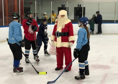 Santa with Players