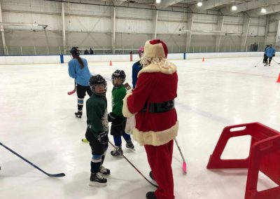 Santa at Ice Cats Rink